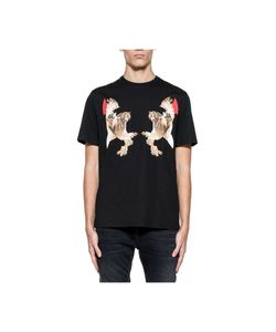Neil Barrett | Owls Print Jersey T-Shirt
