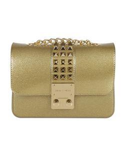 Designinverso   Gold Amalfi Glitter Studs Mini Crossbody