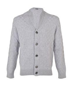 Barba | Checkered Pattern Cardigan