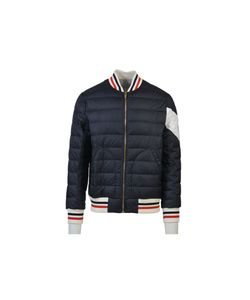 Moncler Gamme Bleu | Navy Quilted Bomber Jacket