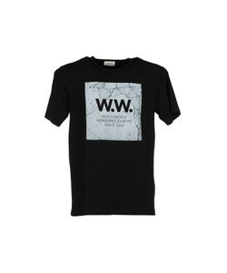 Wood Wood | Concrete Square T-Shirt