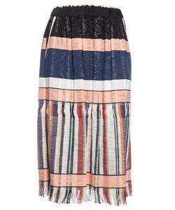 Forte Forte | Striped Gathe Skirt