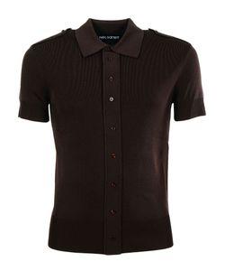 Neil Barrett | Buttoned Shoulder Polo Shirt