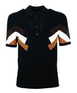 Neil Barrett | Paneled Polo Shirt