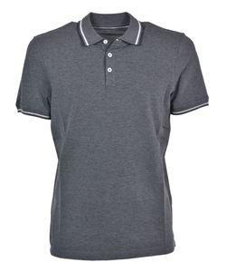 Brunello Cucinelli | Striped Collar Polo Shirt