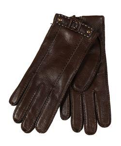 Restelli | Deer Gloves With Selleria Belt.