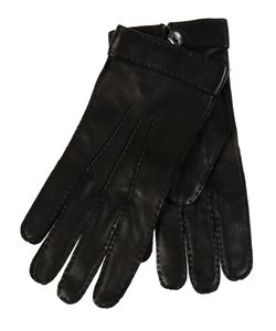 Restelli | Deer Gloves With Mother Of Pearl Button