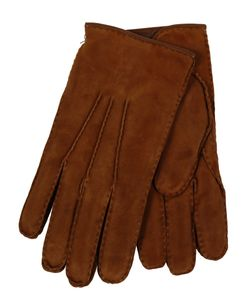 Restelli | Suede Hand-Stitched Gloves