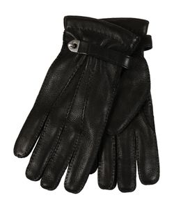 Restelli | Deer Gloves With Belt And Clasps