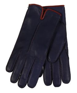 Restelli | Deer Gloves With Edged Contrast
