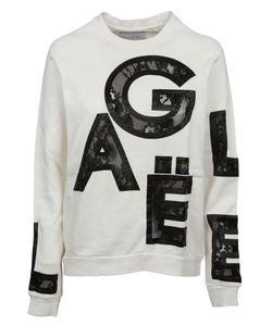 Gaelle Bonheur   Lace Letter Insert Sweatshirt