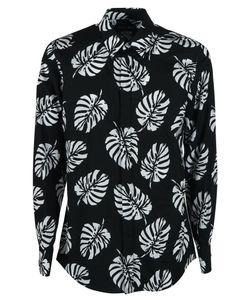 Dolce & Gabbana | Palm Leaf Print Shirt