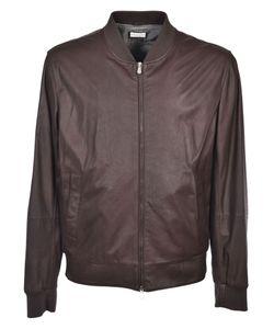 Brunello Cucinelli | Leather Bomber