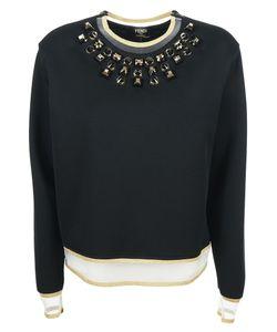 Fendi | Embellished Sweatshirt