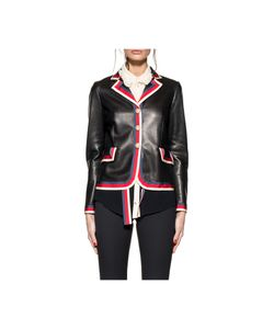Gucci   Sylvie Web Leather Jacket