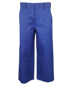 Sofie D'hoore | Wide Leg Cropped Trousers