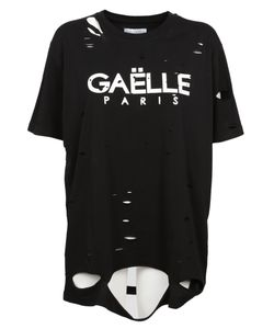 Gaelle Bonheur   Distressed T-Shirt