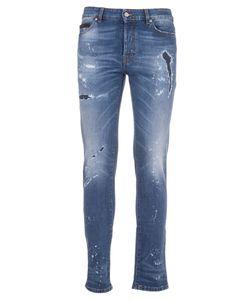 MARCELO BURLON | Distressed Jeans