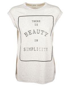 Brunello Cucinelli   Simplicity Print T-Shirt