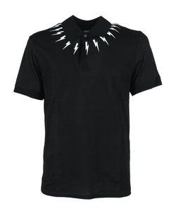 Neil Barrett | Printed Polo Shirt