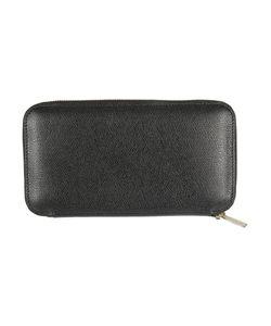 Valextra | Leather Zip Around Wallet