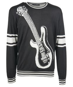 Dolce & Gabbana | Embroide Guitar Sweater