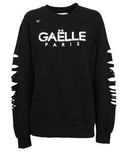 Gaelle Bonheur   Distressed Sweatshirt