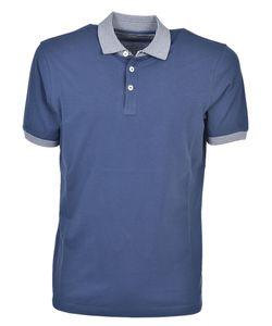 Brunello Cucinelli | Contrast Polo Shirt