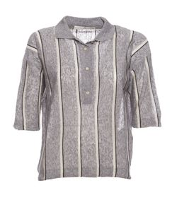 Golden Goose | Striped Polo Shirt