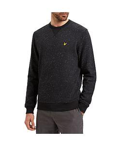 Lyle & Scott | Flecked Crew Neck Sweatshirt True