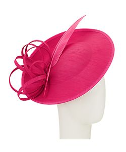 John Lewis | Erin 2 Disc Feather Quill Occasion Hat