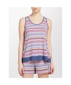 DKNY | Stripe Tank Top And Short Pyjama Set /Birch