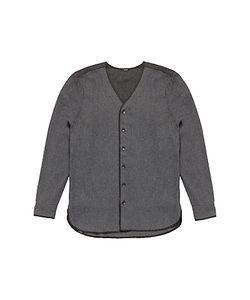 Denham   Flight Knitted Shirt Marl