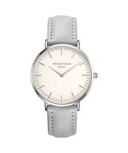 ROSEFIELD | Womens The Bowery Leather Strap Watch
