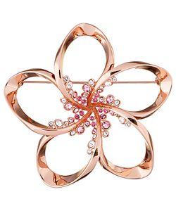 Ted Baker | Belvas Swarovski Crystal Blossom Brooch Rose