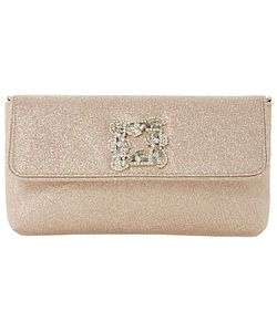 Dune | Betsey Foldover Jewelled Clutch Bag