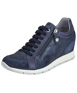 John Lewis Designed for Comfort | Esi Concealed Wedge Trainers Navy