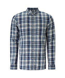 Denham   Edged Check Shirt Tpl