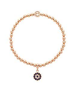Melissa Odabash | Glass Crystal Evil Eye Bracelet