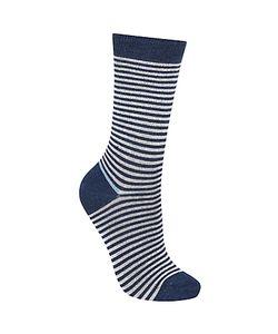 John Lewis   Wide Stripe Ankle Socks