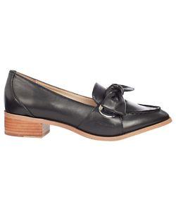 Karen Millen   Eyelet Soft Tie Loafers