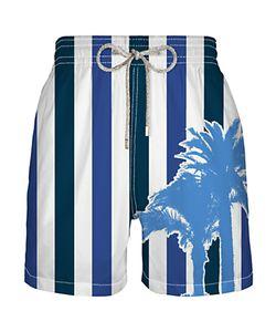 Vilebrequin | Mahina Stripe Swim Shorts Navy
