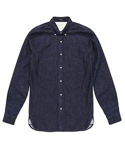 Denham   Rhys Denim Shirt Dark Indigo