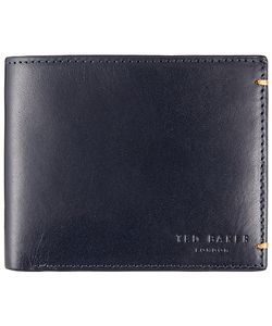 Ted Baker   Aunat Colour Block Leather Wallet Navy