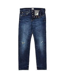 Edwin | Ed-80 Slim Fit Tape Jeans Rainbow Selvage Denim Dark Wash