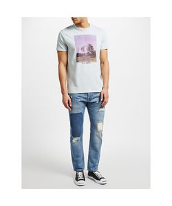 Edwin | Ed-55 Regular Tape Jeans Rainbow Selvage Denim Pulled Wash