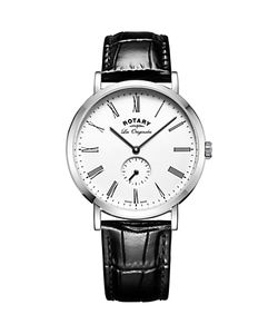 ROTARY | Gs90190/01 Mens Les Originales Leather Strap Watch /