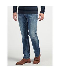 Denham   Drill Regular Fit Stretch Jeans Washed