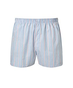 Sunspel | Classic Stripe Woven Cotton Boxers /