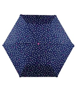 Radley | Dog Dot Print Umbrella Navy/Multi